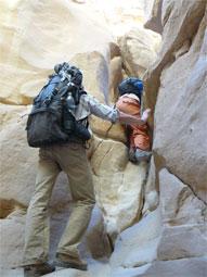 Тур в пустыню. Местами настоящий горный туризм